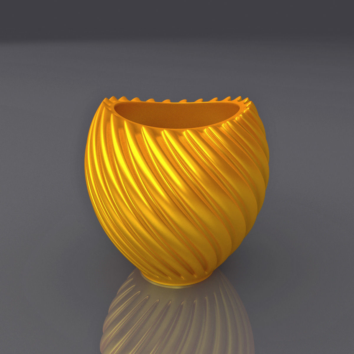 Vase Shape Design 3D Print Model