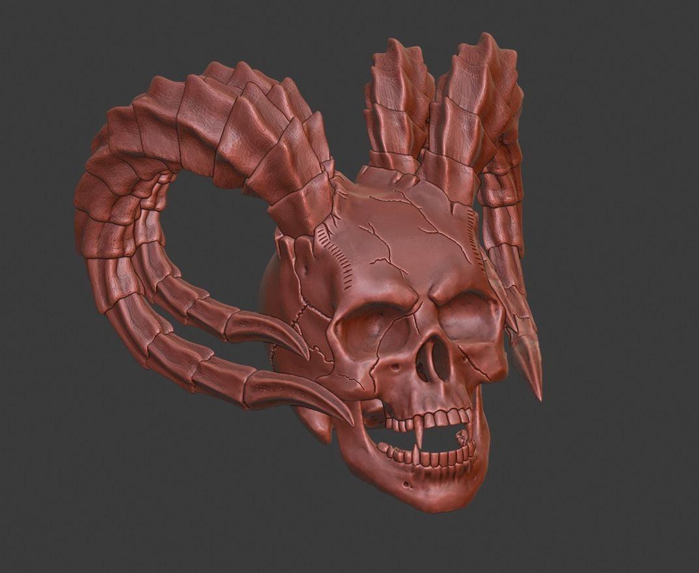 hell skull
