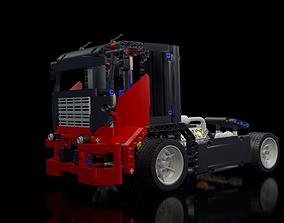 3D model LEGO Technic - Race Truck 8041