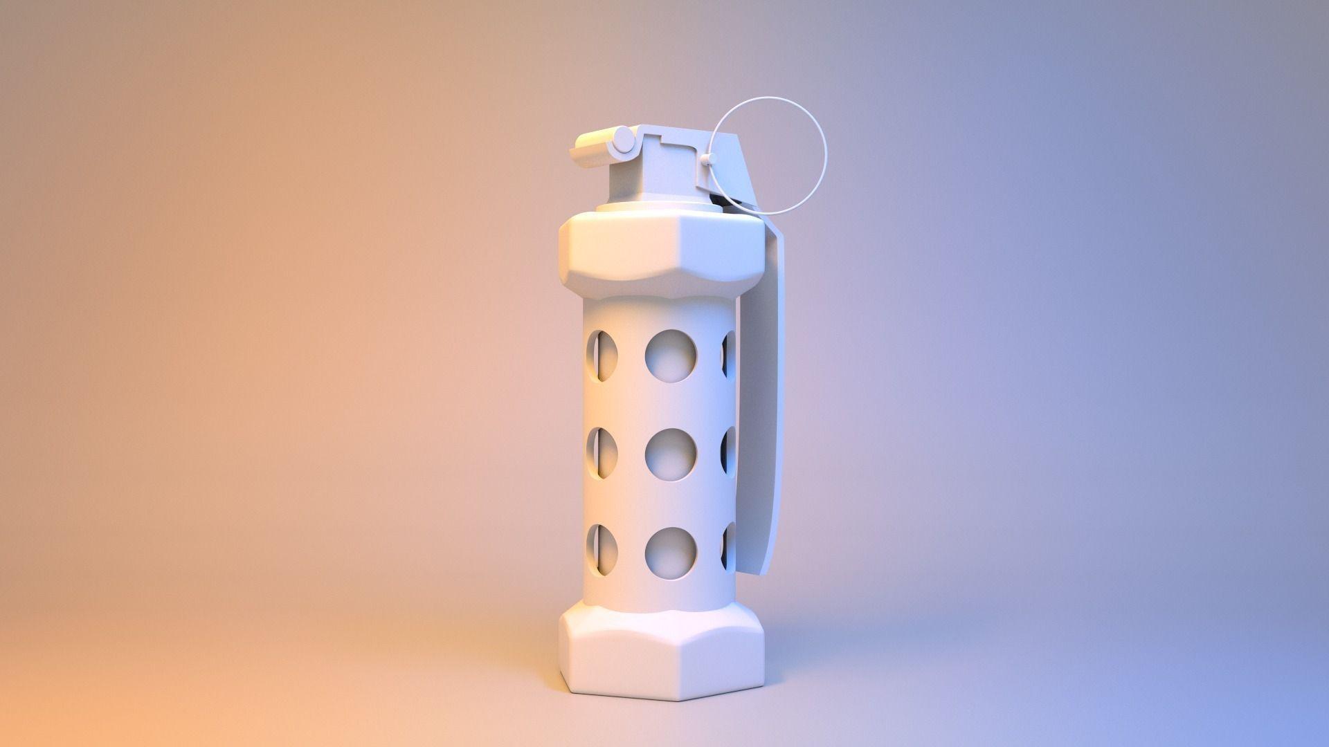 3D model Flashbang CSGO | CGTrader