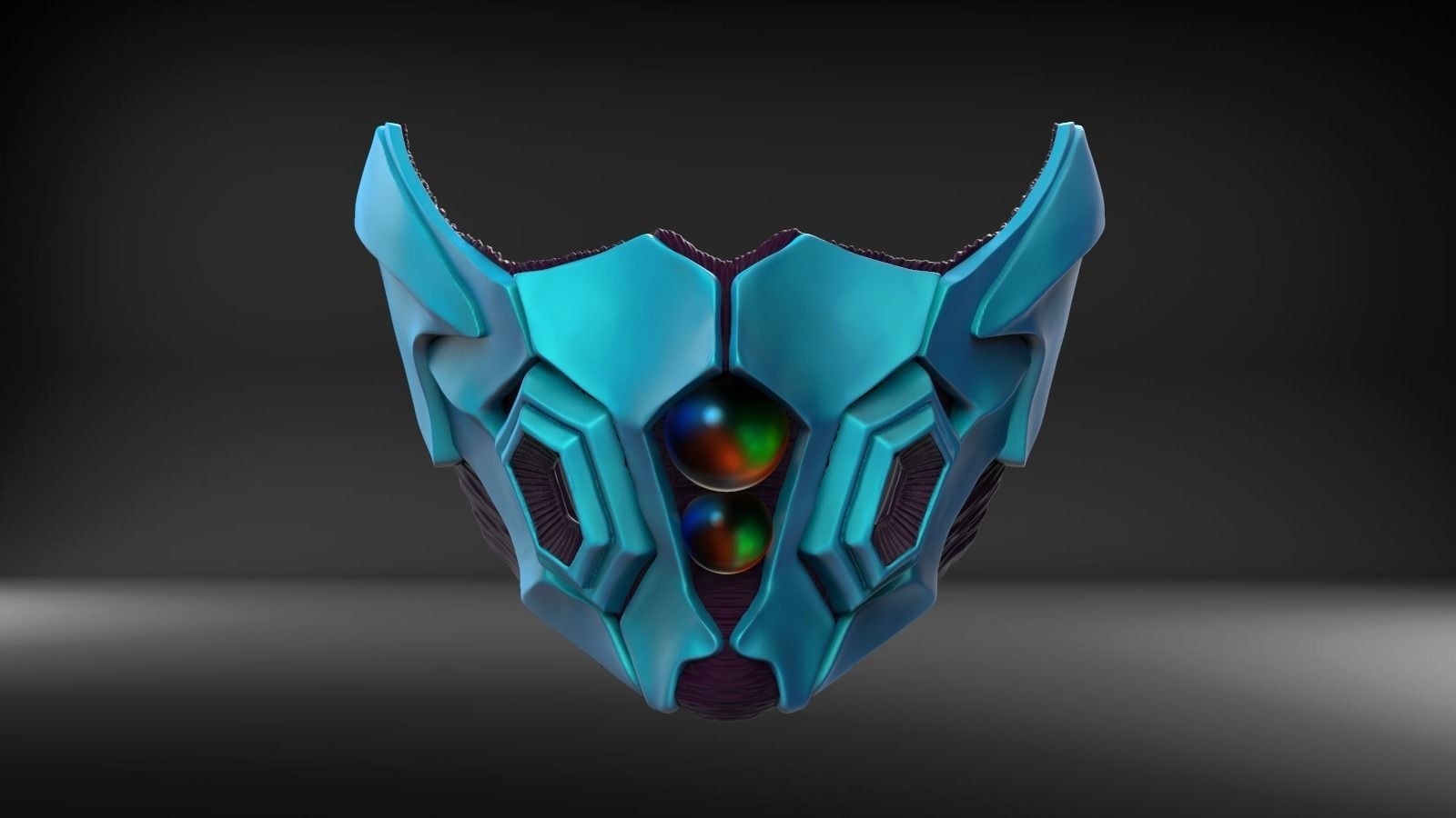 3D printable model infection Medical simple mask   CGTrader