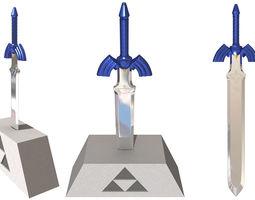 3d model master sword zelda oot