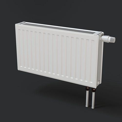 heating radiator 3d model max obj fbx mtl mat 1