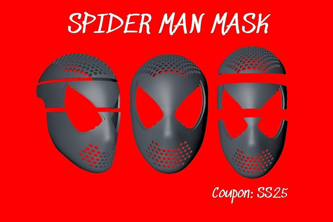 Spiderman MASK helmet v2