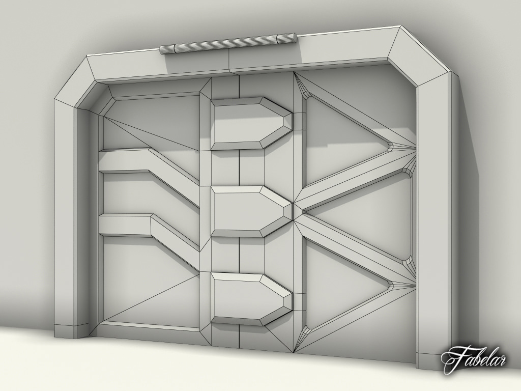 ... airlock door 3d model max 6 & 3D Airlock door | CGTrader