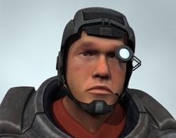 Mercenary 3D Model