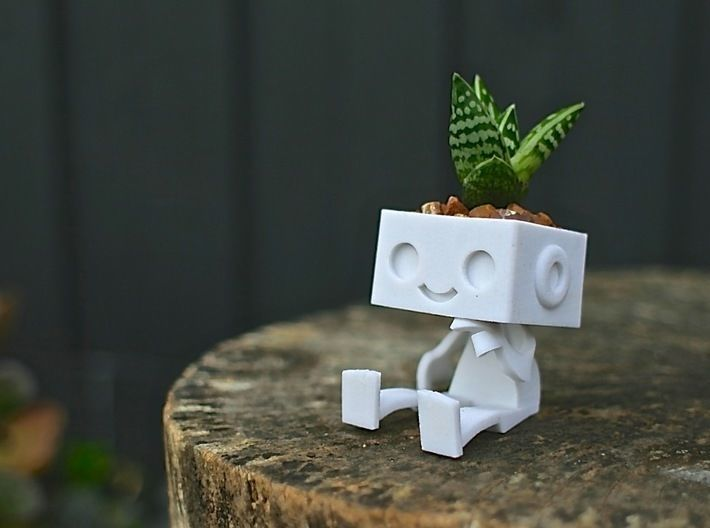 Robbie the Robot Planter