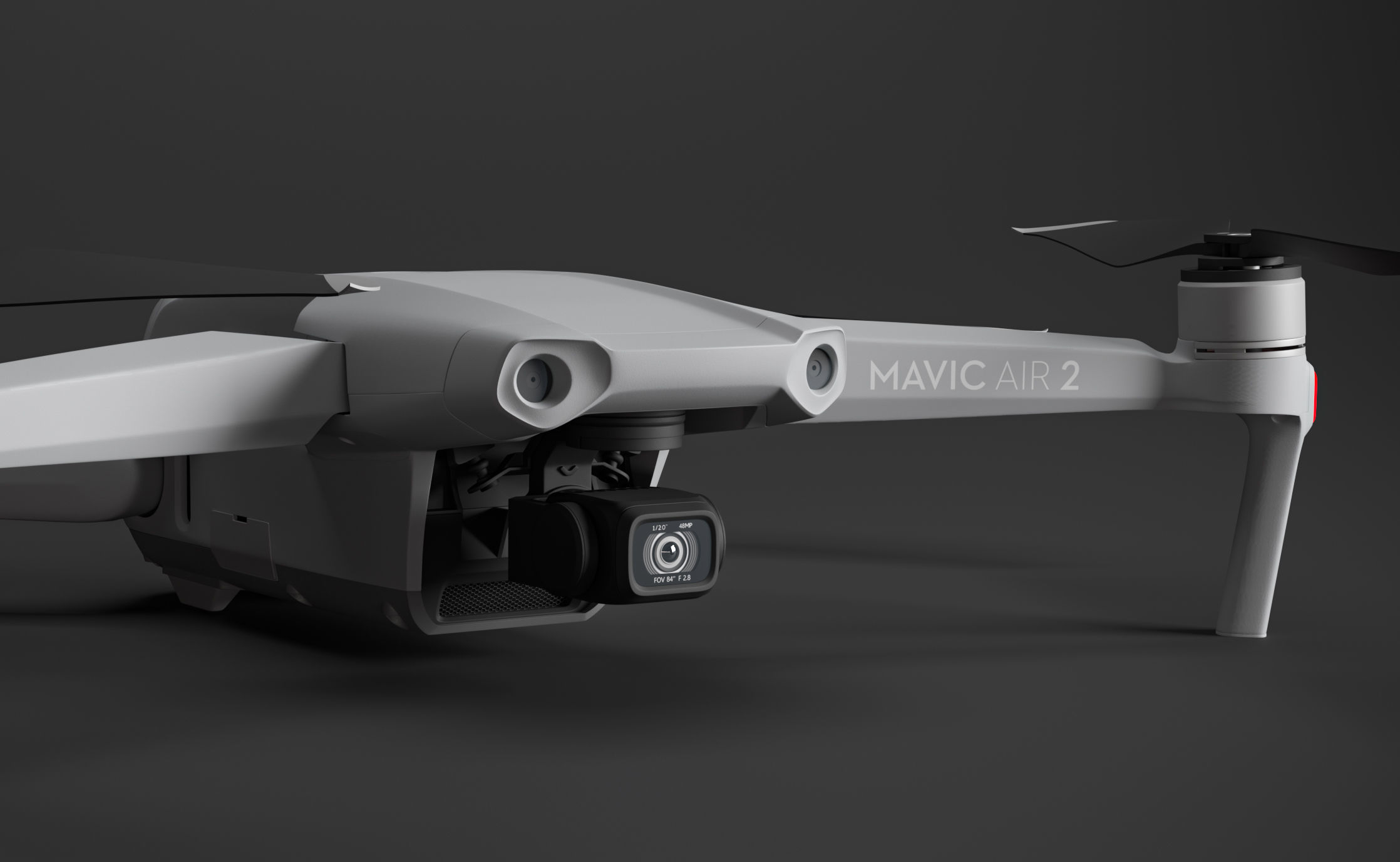DJI Mavic Air 2 drone with transmitter