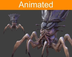 Free character 3d models cgtrader 3d model character arachnid malvernweather Image collections