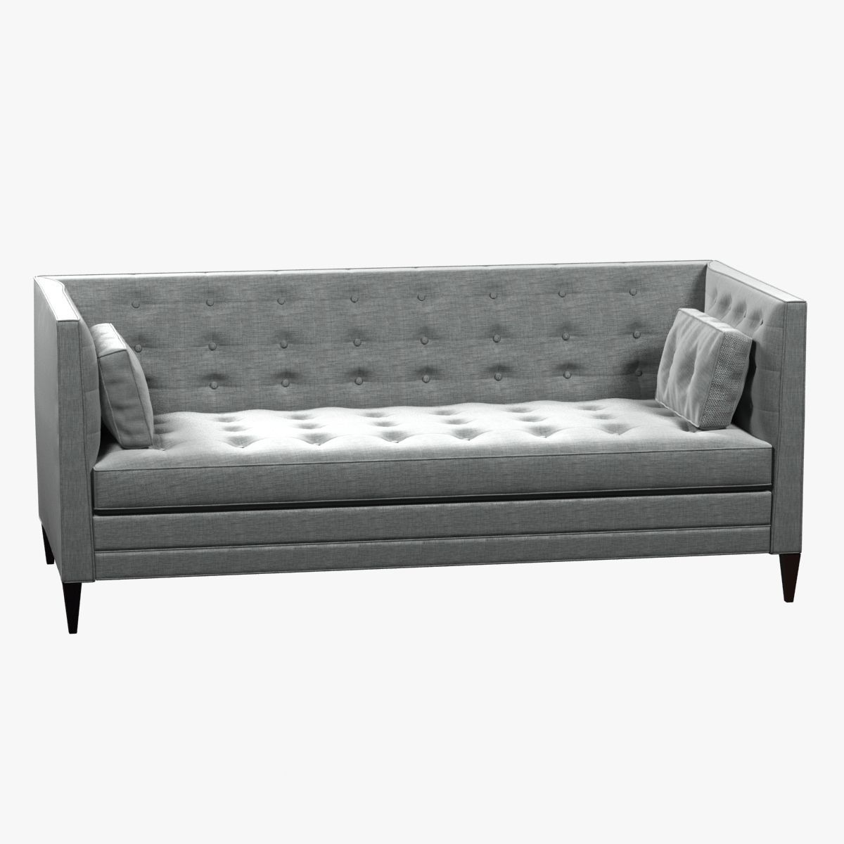 Fine Clancy Tufted Upholstered Sofa In Vangogh Fog 3D Model Download Free Architecture Designs Grimeyleaguecom