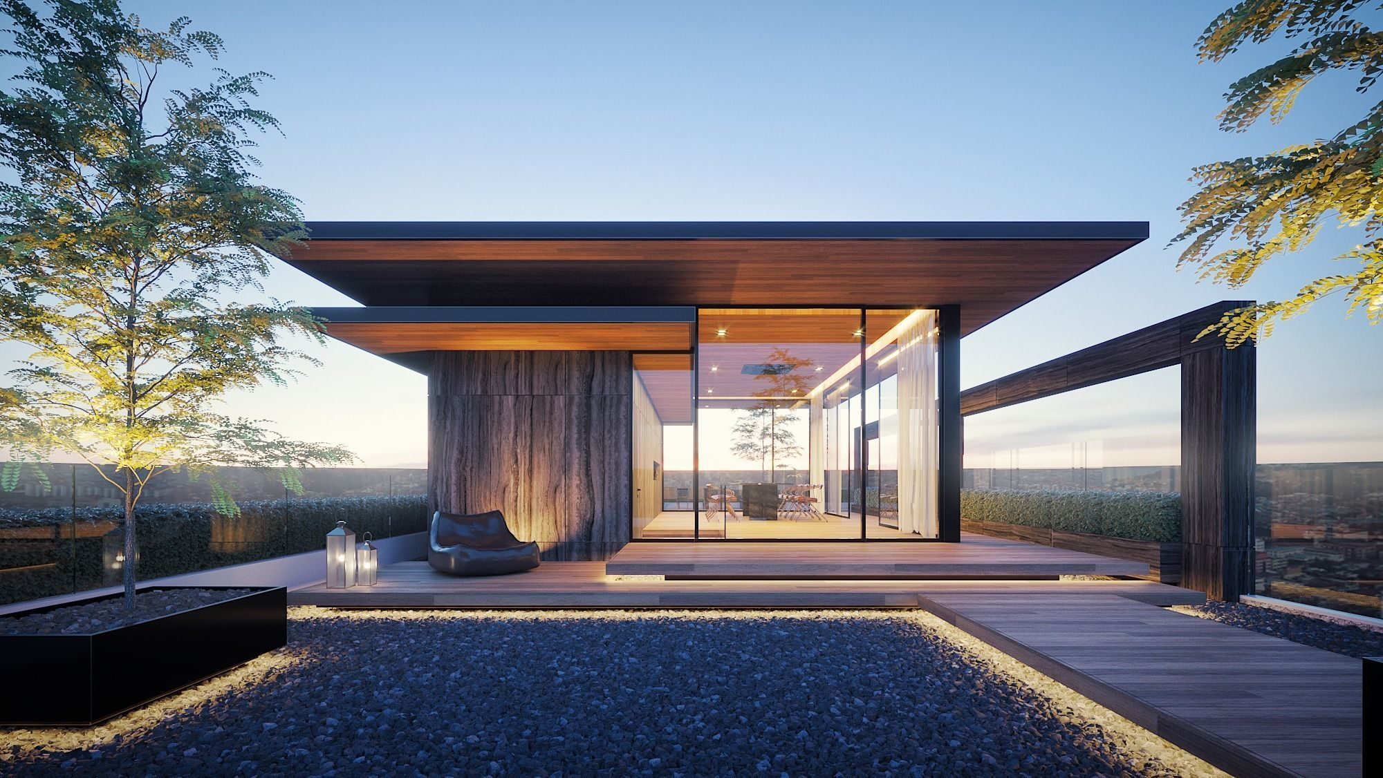 Rooftop House Design