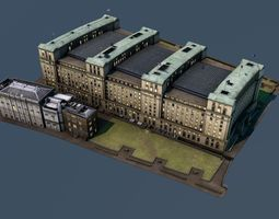 3D Ministry of Defence - London