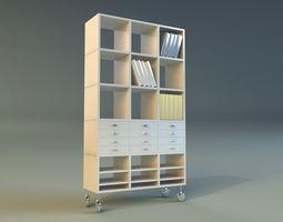 3D model furniture refreshment Cabinet