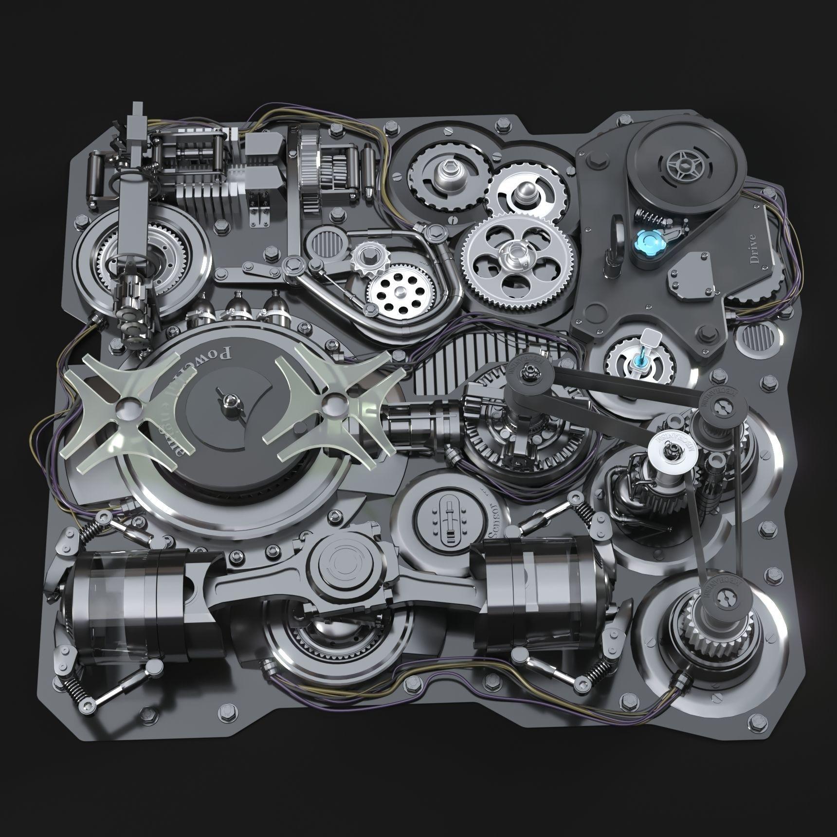 Mechanism Animated