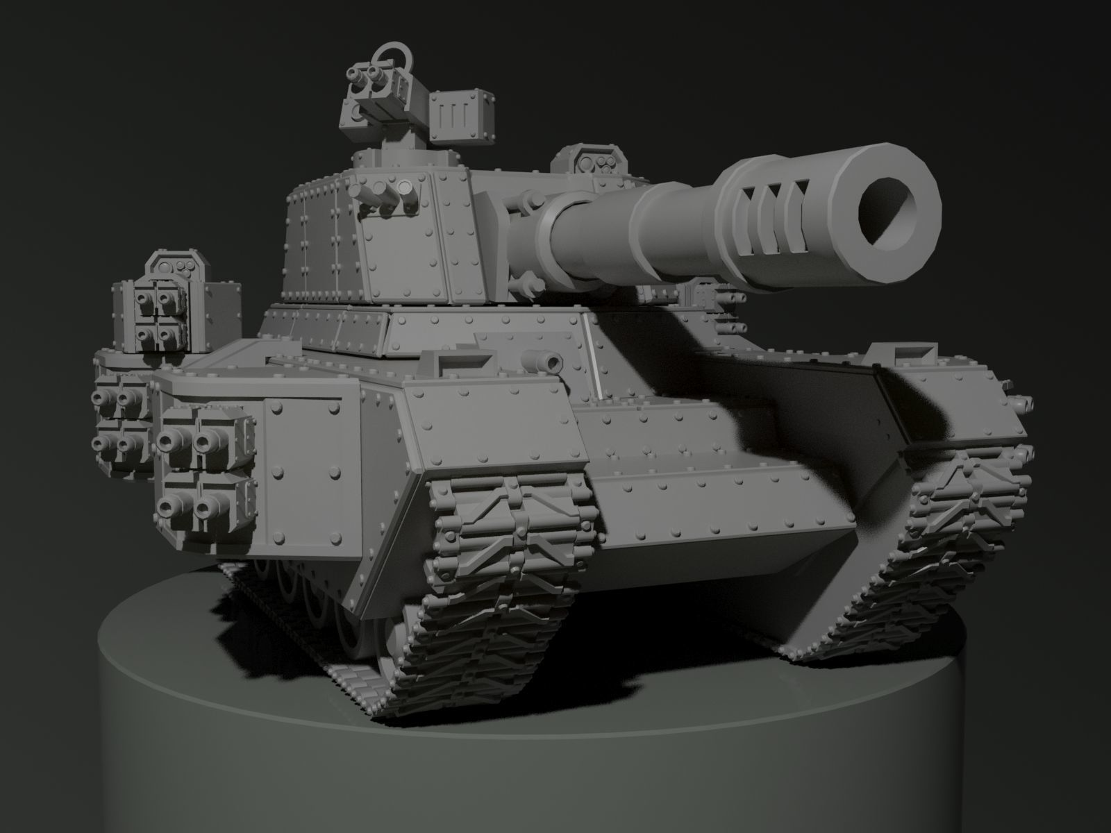 Tank miniature
