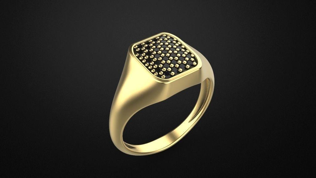 Signet ring special model