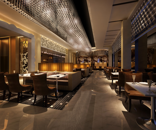 Restaurant joint 3d cgtrader for Restaurant 3d max