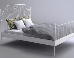3D model Realistic Bed