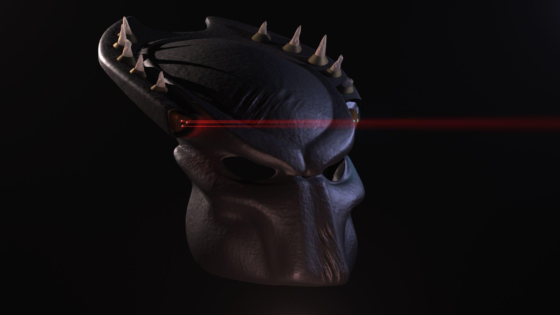 Horned mask 3D printable model   CGTrader   3d printable