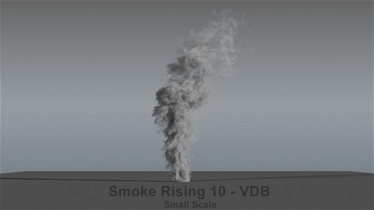 Smoke Rising 10 - VDB