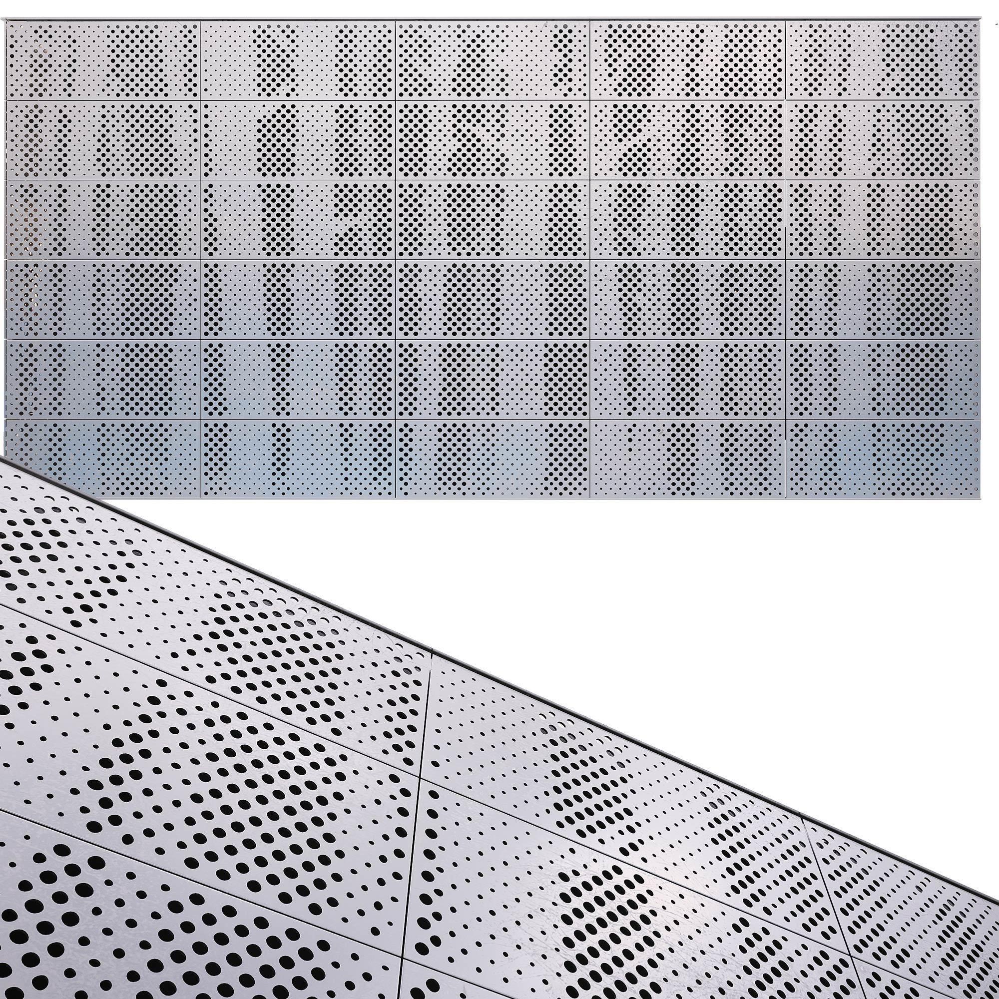 perforated metal panel N23