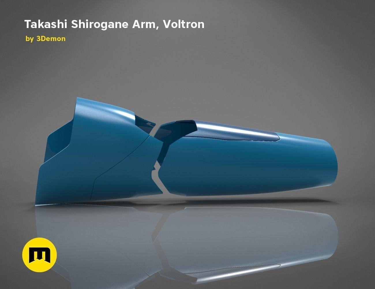 Takashi  Shirogane Arm from Voltron