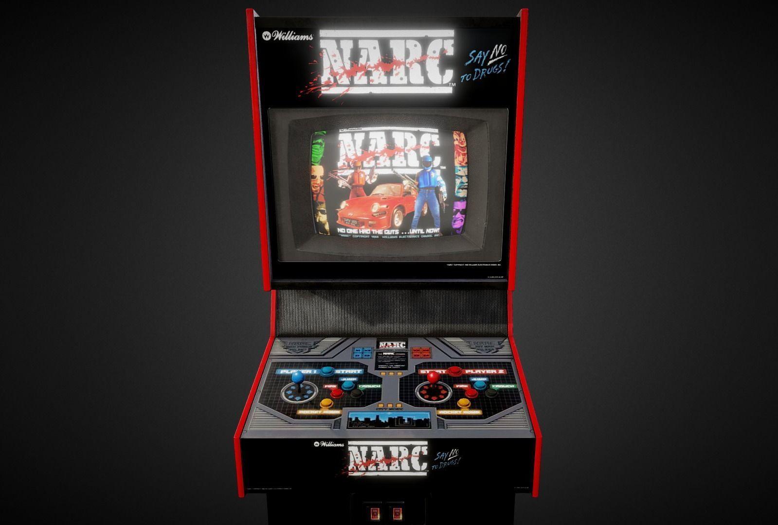 Narc Arcade Machine