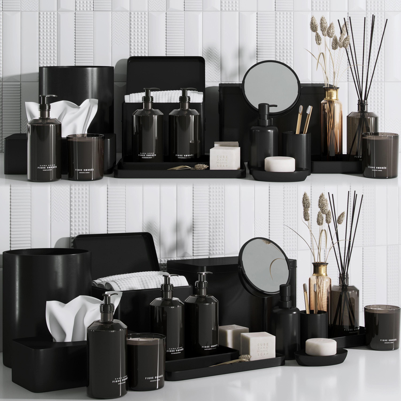 Zara home bathroom set