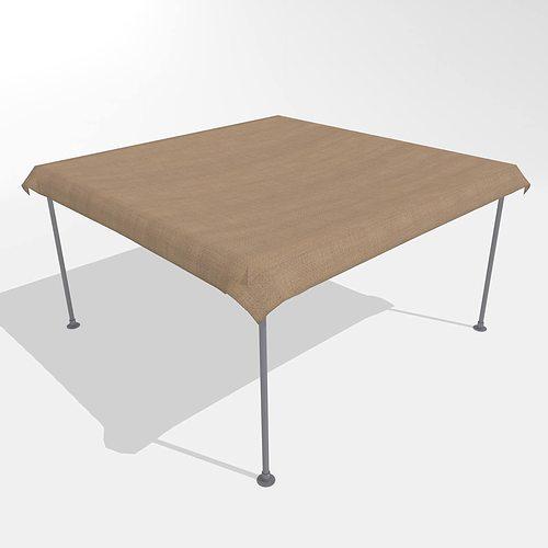 market tent 3d model obj 3ds fbx blend 1 ... & 3D model Market Tent | CGTrader