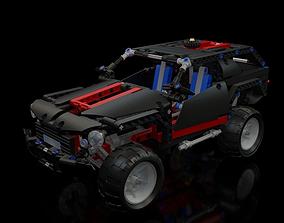 LEGO Technic - Extreme Cruiser 8081 3D model