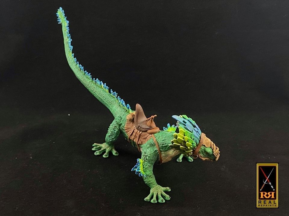Galactic Raptor With Rider