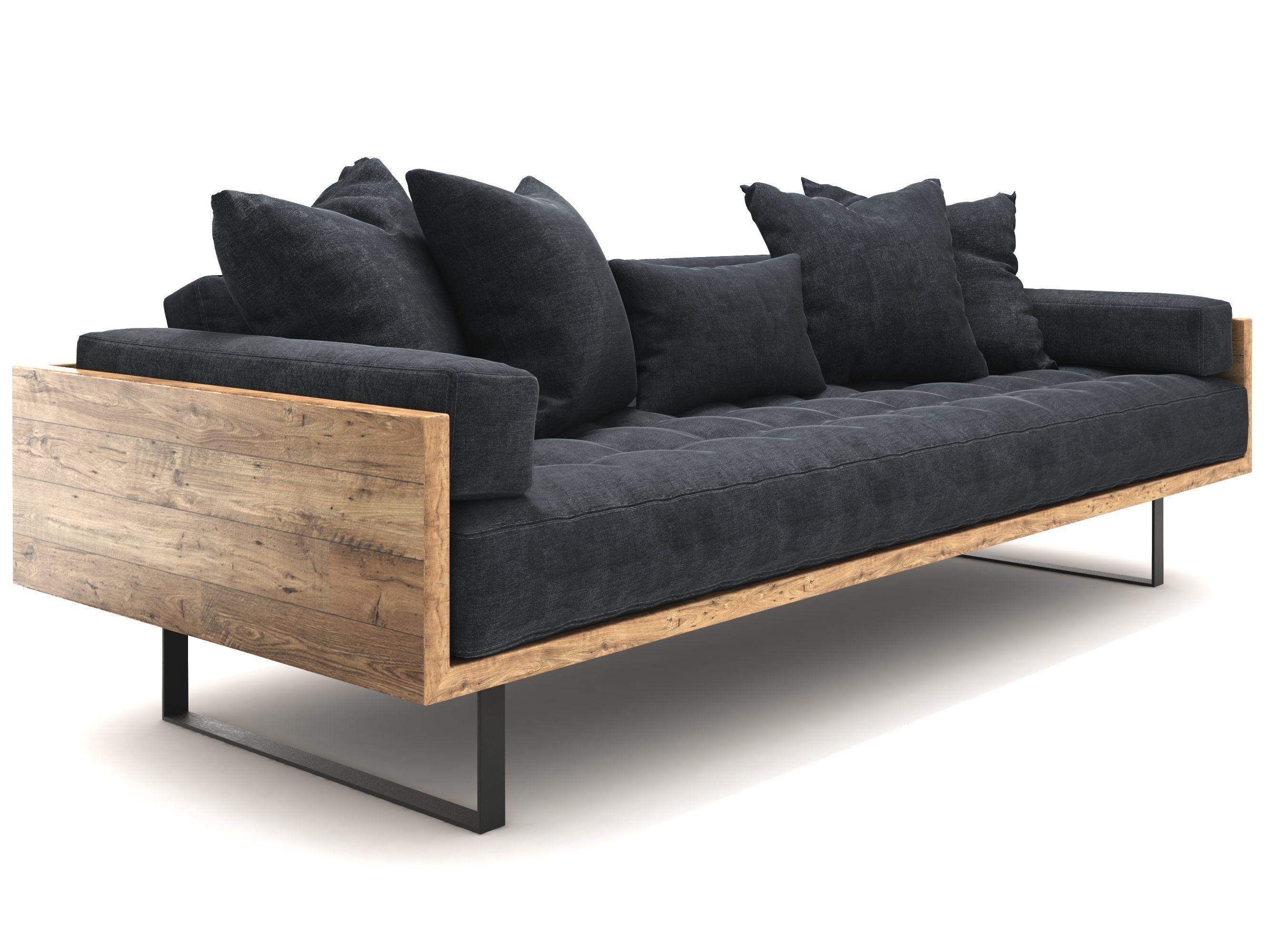 Reclaimed Wood Sofa