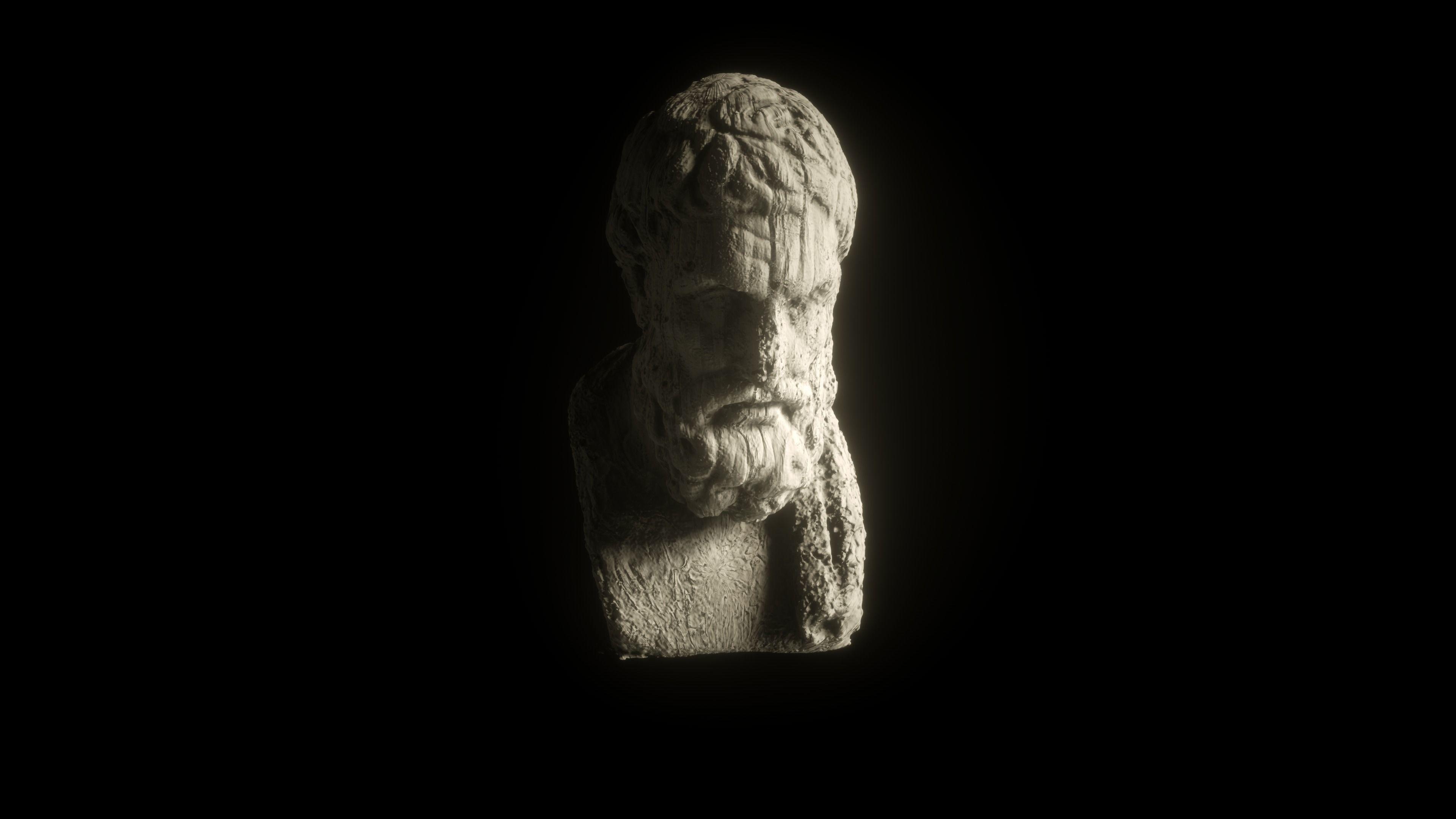 Epikur Sculpture Fotoscan By Timvias