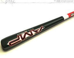 baseball bat 5 3d model obj 3ds c4d dxf