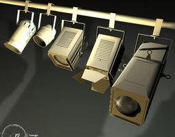 3D model Stage lights for set