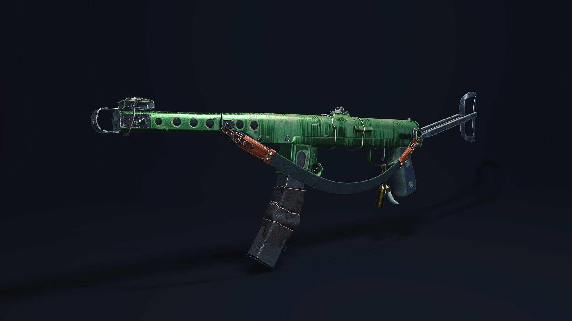 PPS 43 Soviet submachine gun
