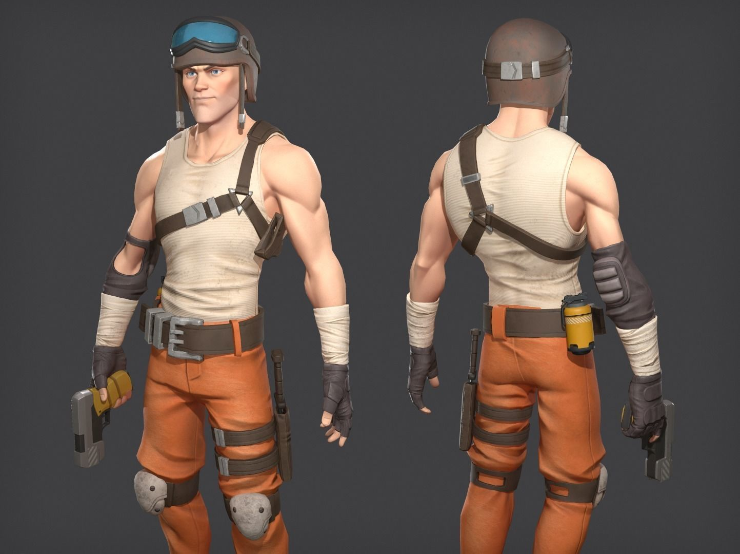 Soldier game ready character
