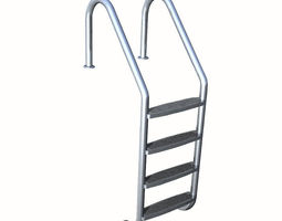 3d model swimming pool ladders  interior exterior