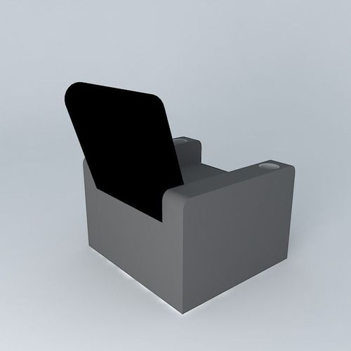 home theater chair 3d model max obj 3ds fbx stl skp 1 ... & 3D model Home Theater Chair | CGTrader