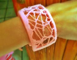 3D printable model Pulsera Voronoi