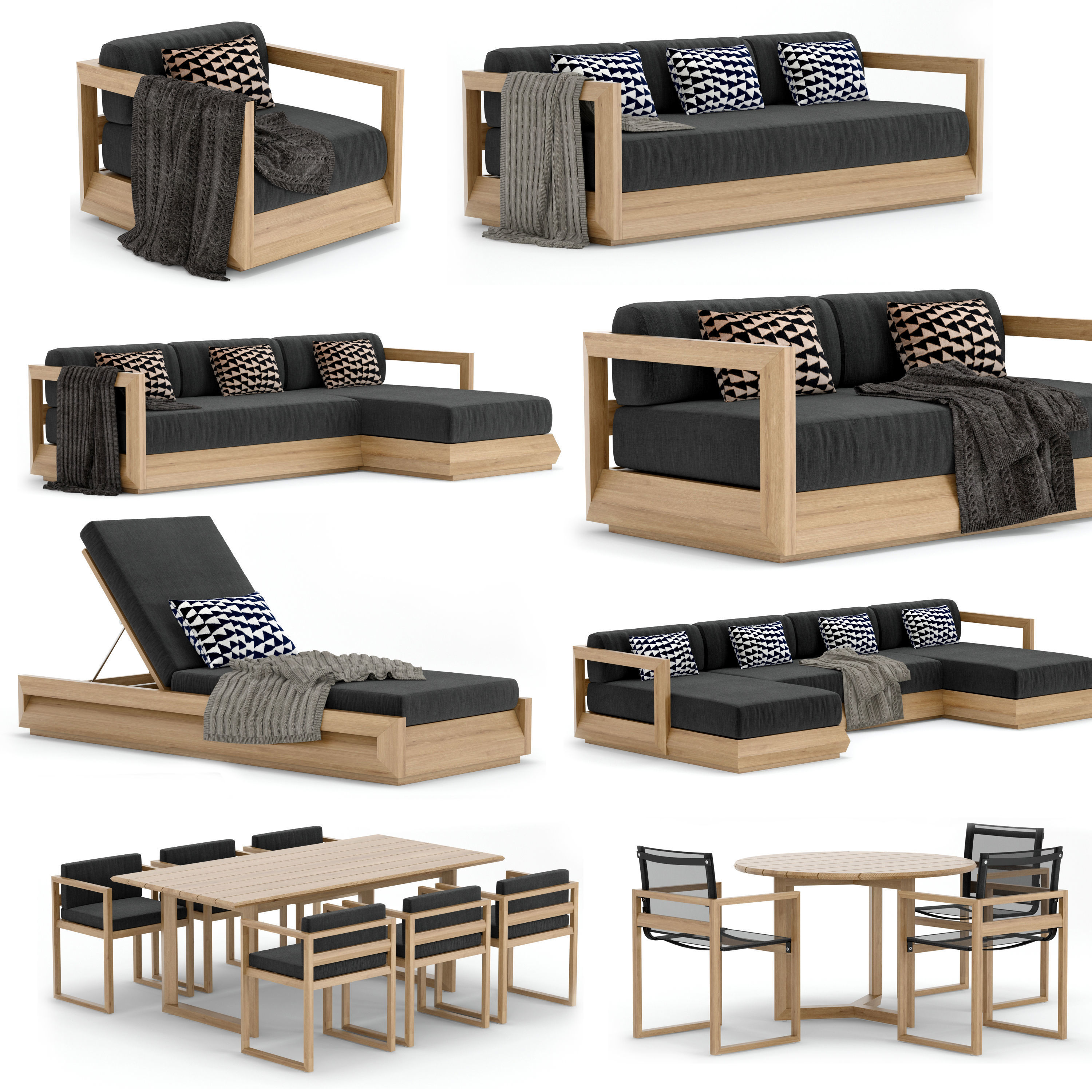 RH Outdoor Paloma Collection