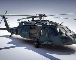 black hawk 3d model ma mb