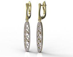 3D print model jewellery jewelry Earrings