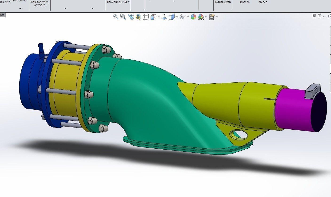 eletric rc boat diagram water jet drive 3d model stl cgtrader com #11