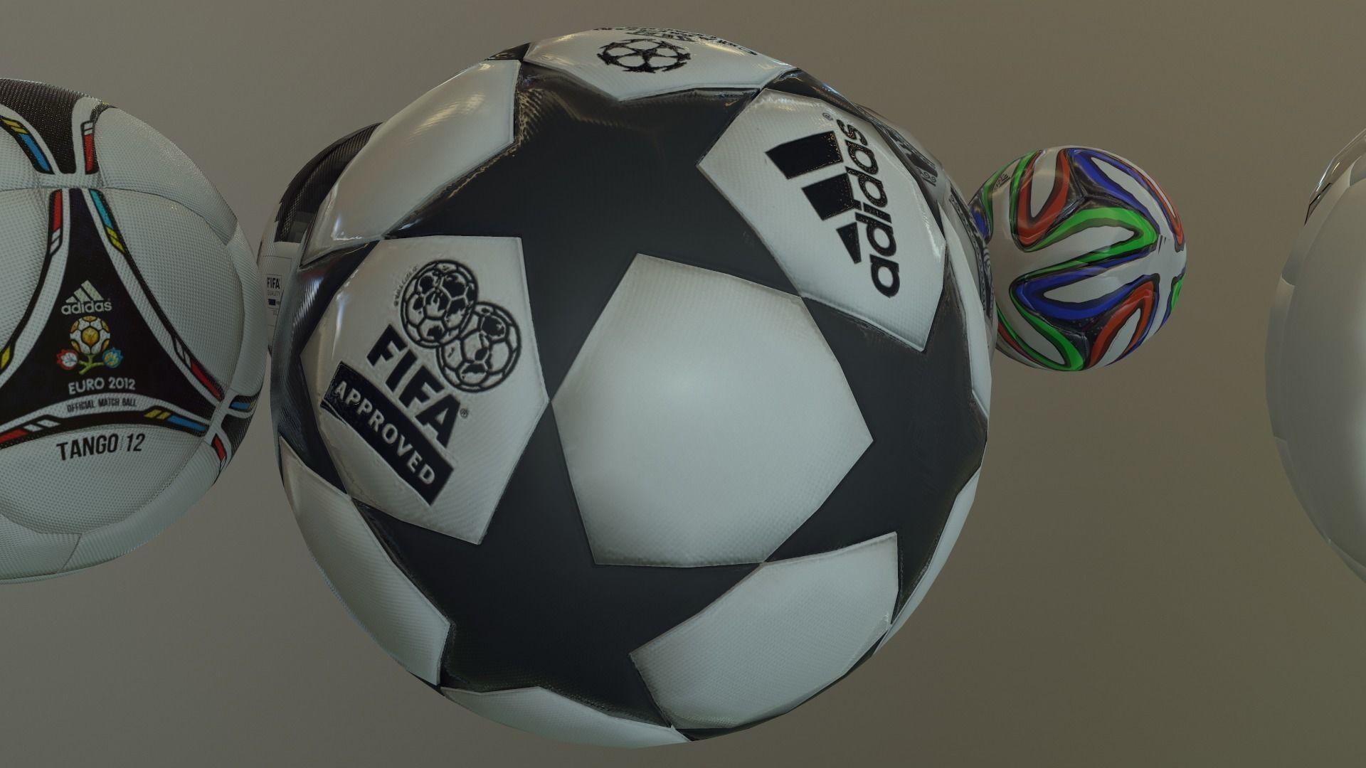 2019 uefa champions league ball 3d model cgtrader cgtrader