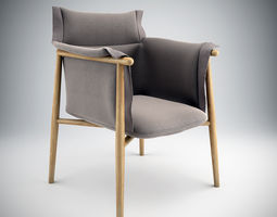 Embrace Chair EOOS 3D