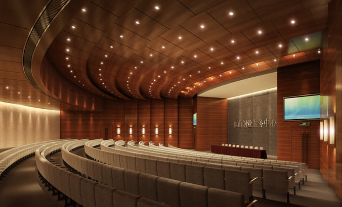 Theater 3d Model Cgtrader
