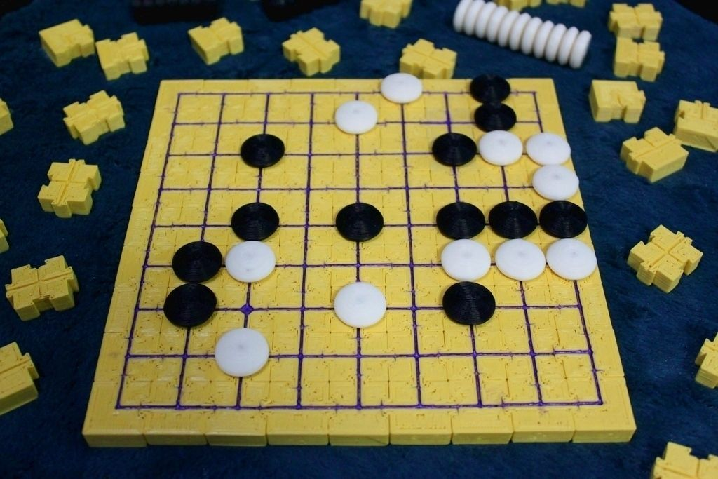 Modular Magnetic Go Board