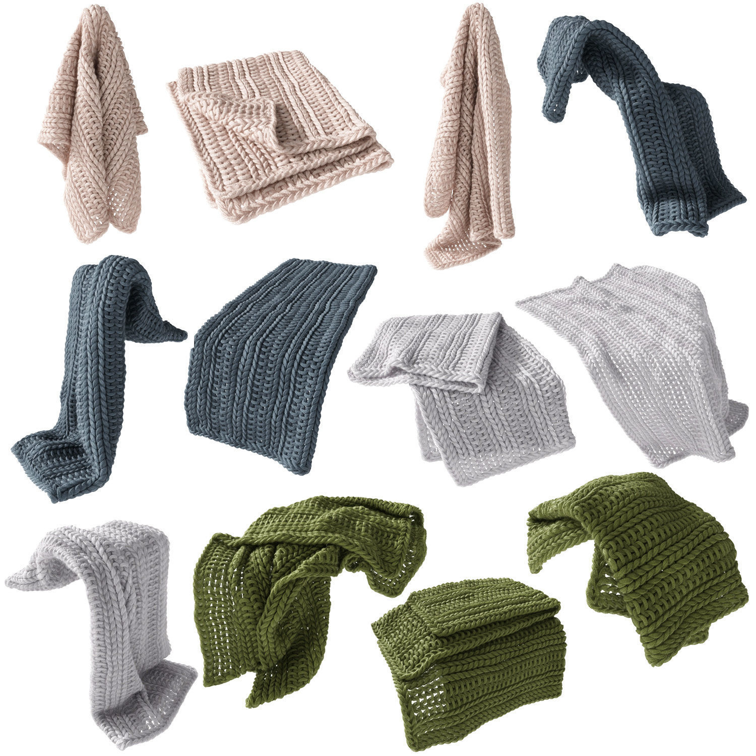 Home Republic Chunky Knit Throw