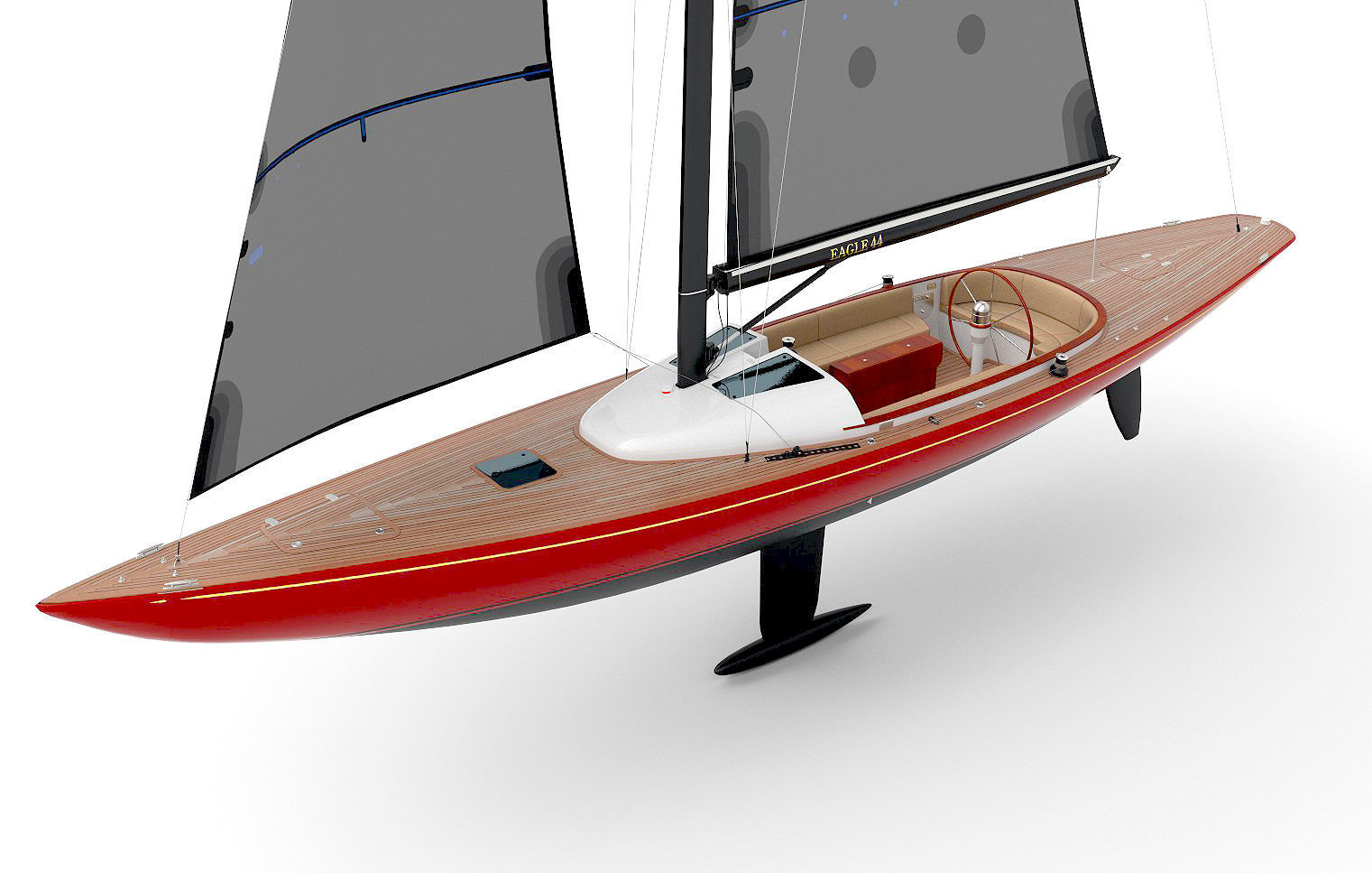 Leonardo yachts Eagle 44 RED